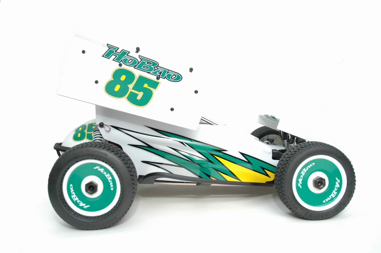 hyper 8 sprint nitro car rtr white green hobao. Black Bedroom Furniture Sets. Home Design Ideas